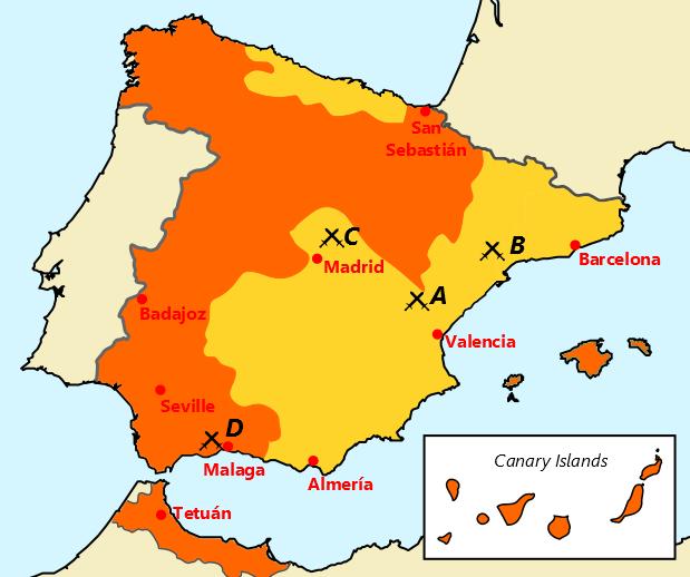 8 Spain 1900-1939